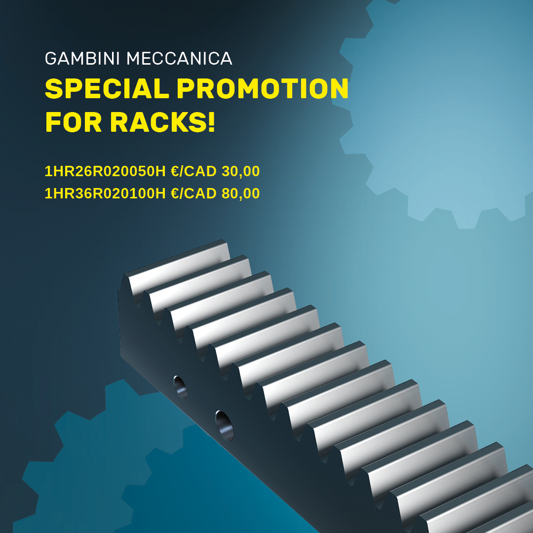 Special promotion for racks
